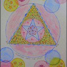 Mandala Floating into the light