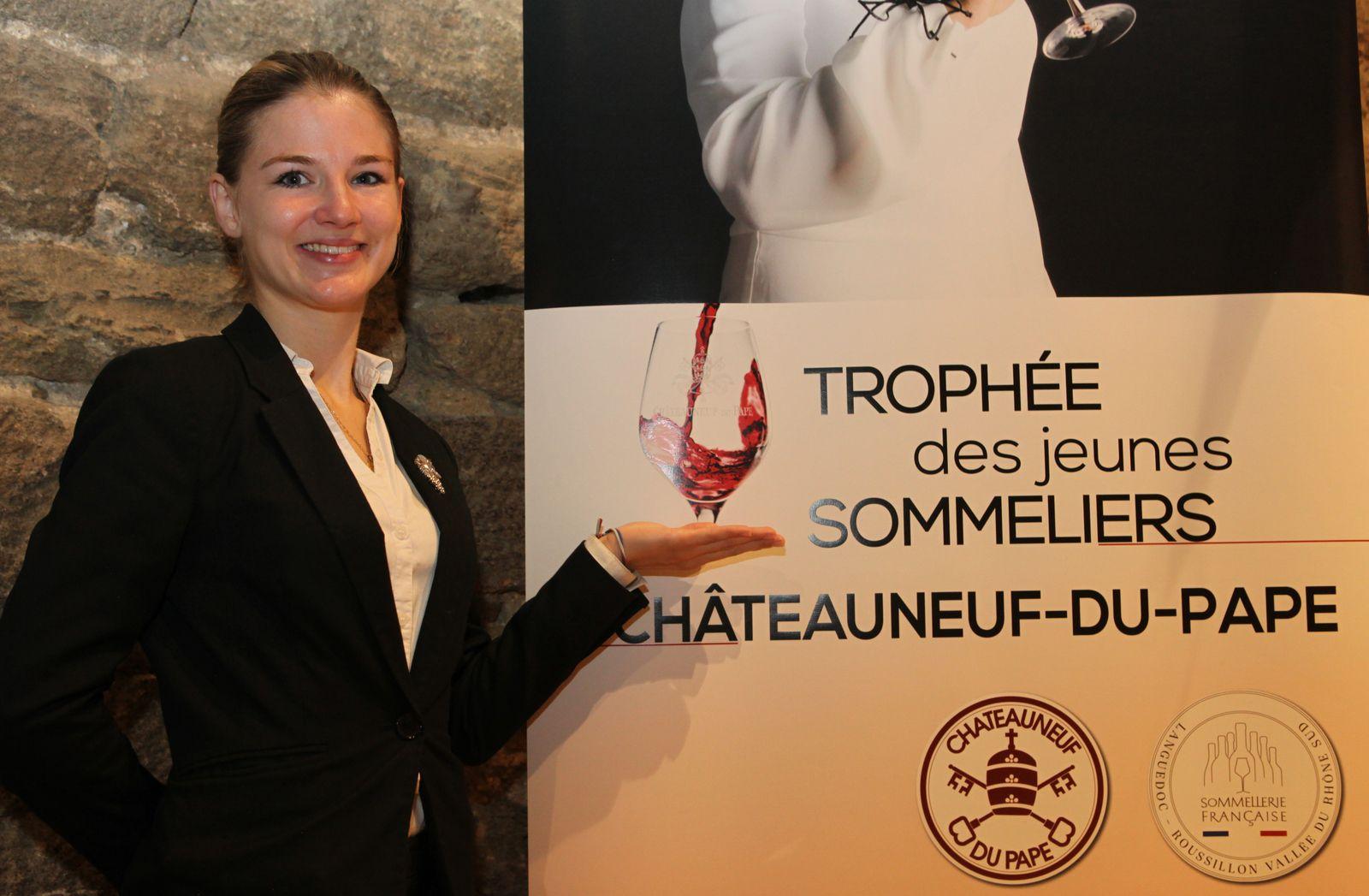 Audrey Brugière lauréate de cette deuxième édition. (Photo JB)