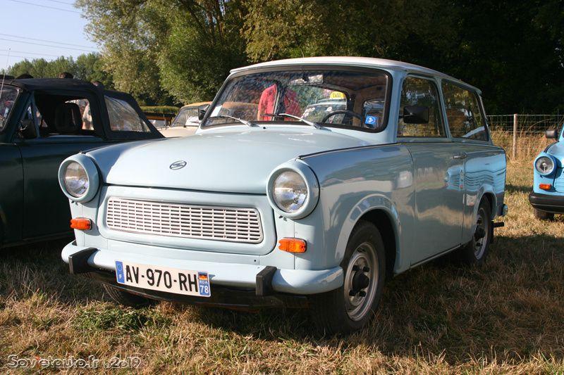 2ème rassemblement international de Trabant de France !