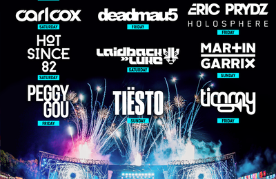 Tiësto date | Creamfields | Daresbury, UK august 29, 2021