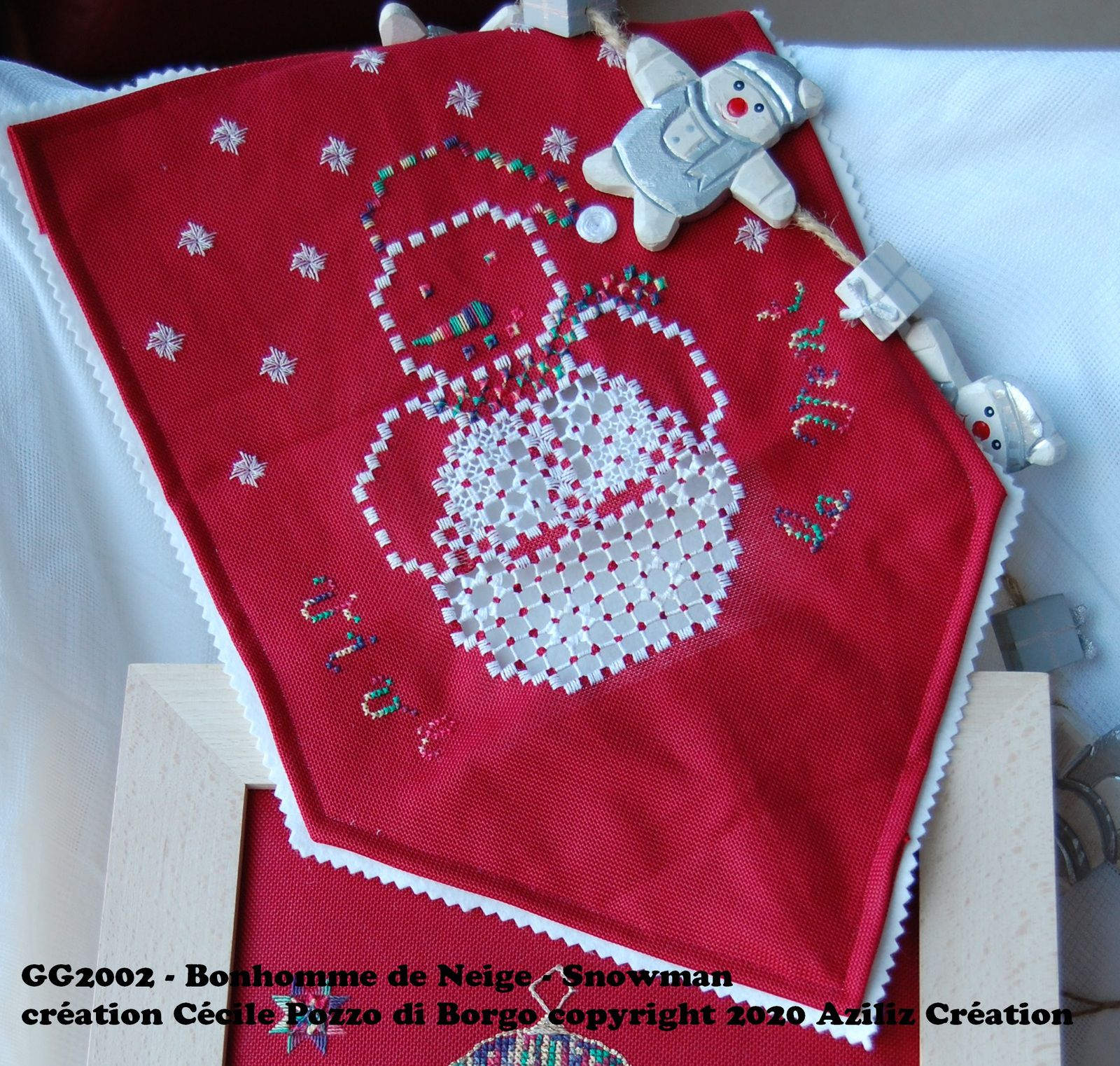 grille gratuite pour broderie hardanger - free pattern for hardanger embroidery