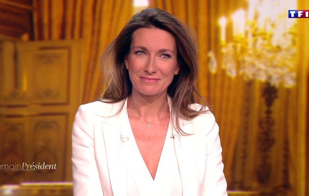 📸14 ANNE-CLAIRE COUDRAY @ACCoudray @TF1 @TF1LeJT pour DEMAIN PRESIDENT #vuesalatele