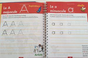 Cahier d'apprentissage pour la maternelle