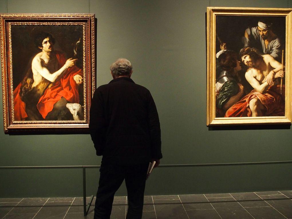 Vues de l'exposition © photographies Le Curieux des arts Gilles Kraemer, exposition Valentin de Boulogne : Beyond Caravaggio, Metropolitan Museum of Art, New York, novembre 2016.