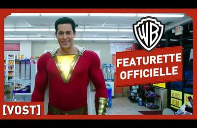 ZACHARY LEVI ET ASHER ANGEL PRESENTENT #SHAZAM
