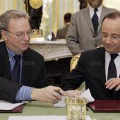 François Hollande applique sa méthode à Google et signe un accord historique