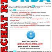Rachat RTT - Syndicat UNSA - L'équipe UNSA Soléa