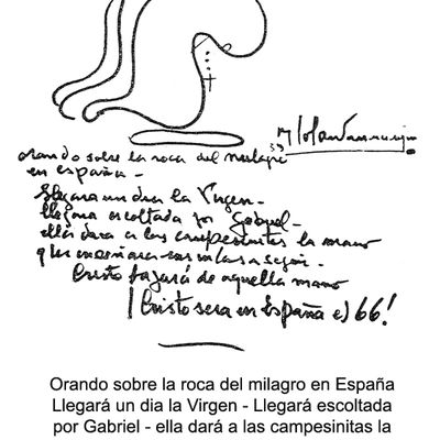 Benjamìn Solari Parravicini y La Virgen de Garabandal