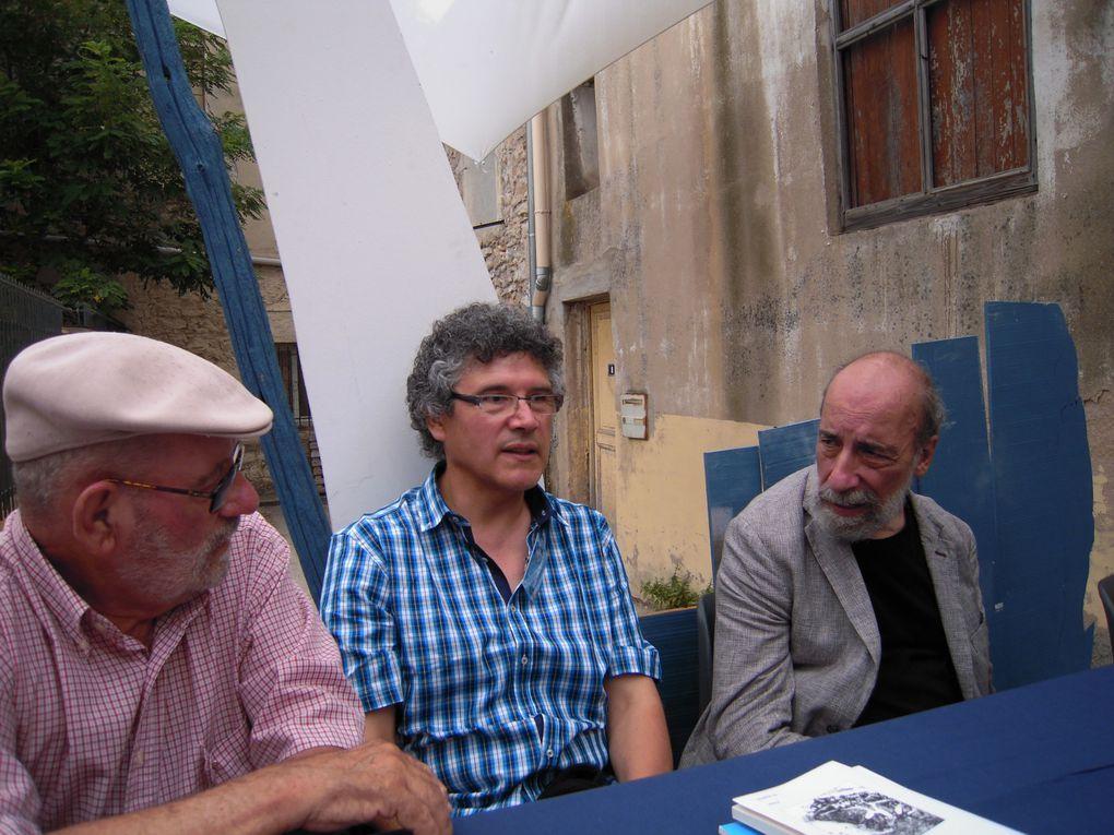 """Quelques images de l'édition 2014 du festival de poésie """"Voix Vives"""" à Sète, saisies par Annie Estèves"""