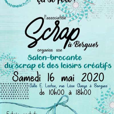 Salon du scrap à Bergues 2020