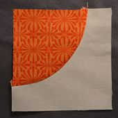 she can quilt: Sewing curves is not hard - Seriously