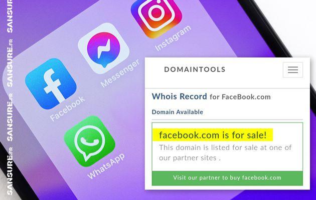 Les raisons de la panne géante de Facebook, Instagram et WhatsApp ! #FacebookDown
