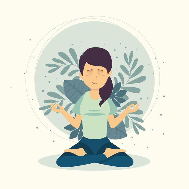 J'essaie au maximum d'être zen et détendue en cette période compliquée...