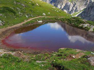 BE: Lenk, cascade et lac d'Iffig