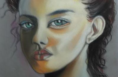 portrait pastel 1