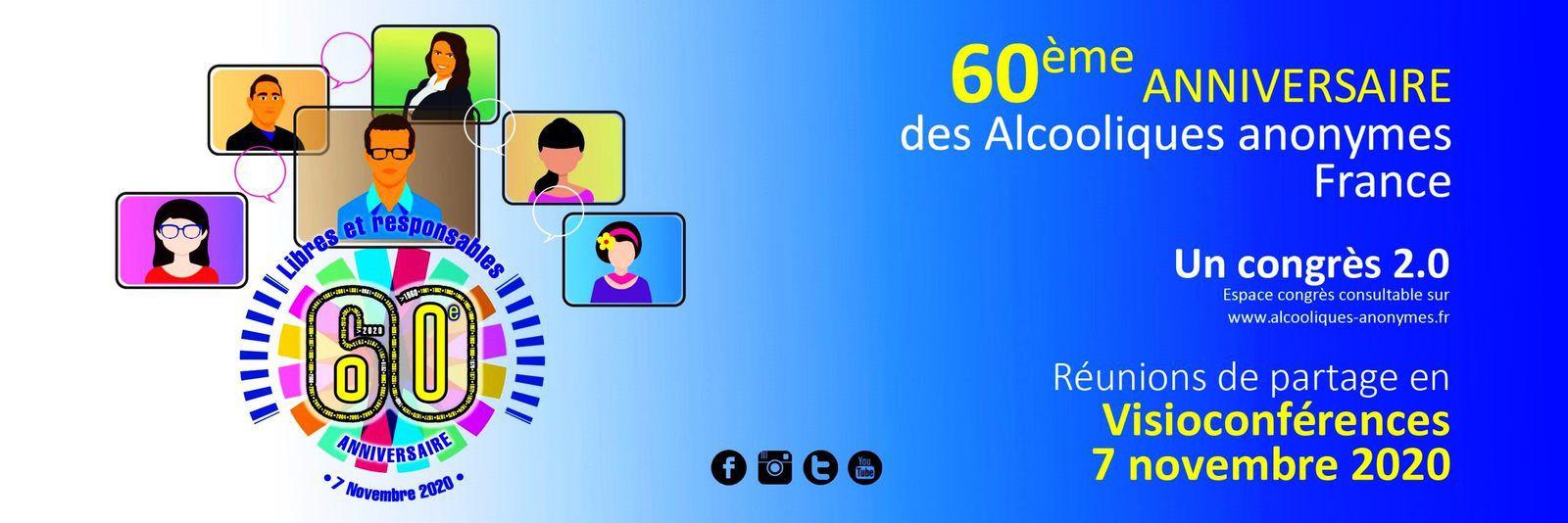 FRANCE : 60° anniversaire de AA