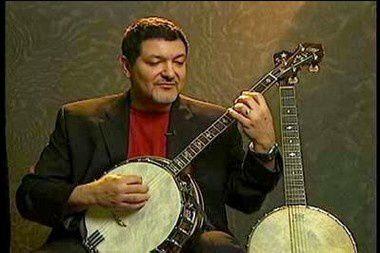 don vappie, multi-instrumentiste et une technique extraordinaire au banjo
