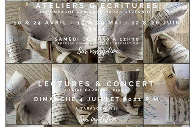 L'Ecrit des Notes  Saison 2021 Autour des Variations Goldberg de Jean-SébastienBACH