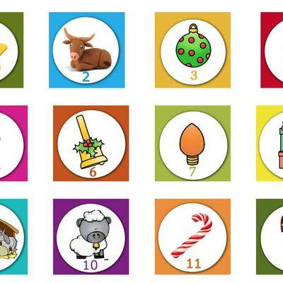 Le calendrier de l'Avent en langue des signes