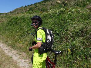 """Rando """"le sommet de la Bigne"""" au départ de Digne-les-Bains (12/07/2015)"""
