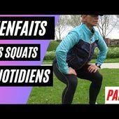 Quand vous faites des squats tous les jours, voici ce qui se passe / Partie 2