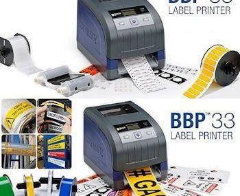 Vielseitiger Etikettendrucker: Das Multitalent Brady BBP33