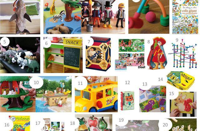20 idées cadeaux pour enfant de 3 - 4 ans
