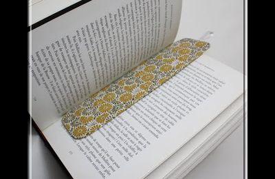 Marque-pages en tissu