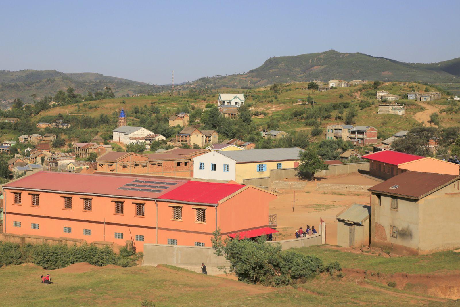 L'école Sainte Catherine à Vinaninony