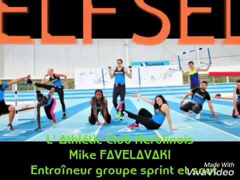La section Sprint et Saut de Mike FALELAVAKI
