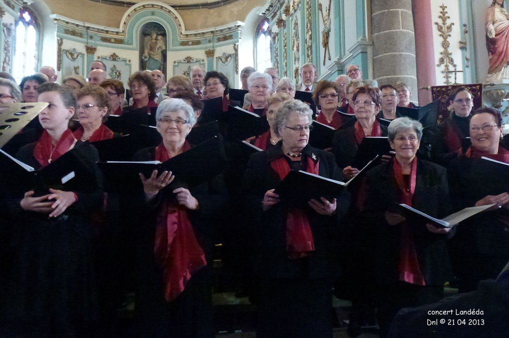 Concert donné en l'église de Landéda au profit de l'association vie et partage
