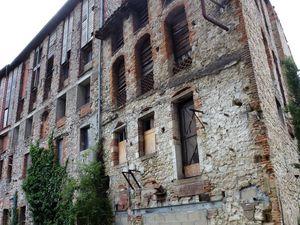 Le quartier des mégisseries de Graulhet