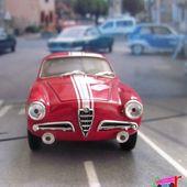 ALFA ROMEO GUILIETTA SPRINT 1957 5e TOUR DE CORSE SOLIDO 1/43 - car-collector