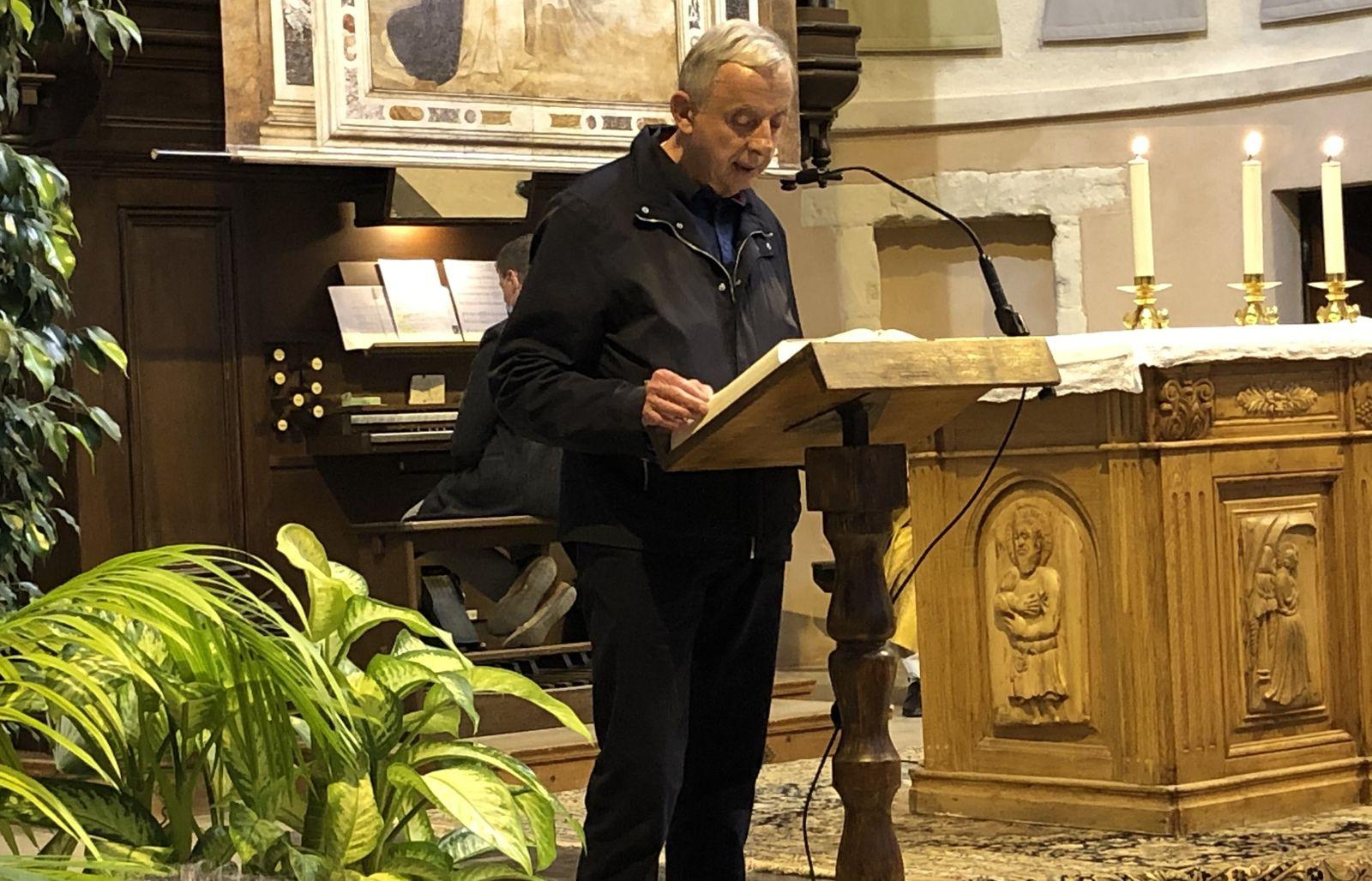 Les photos et l'homélie du Père Michel Isoard
