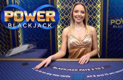 Le format Infitine de Evolution Gaming intégré dans le nouveau jeu de black jack live Power Blackjack
