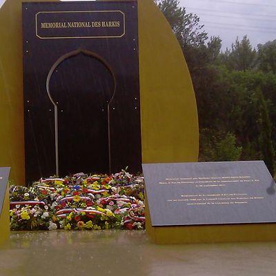 25 sept : Journée d'hommage aux Harkis