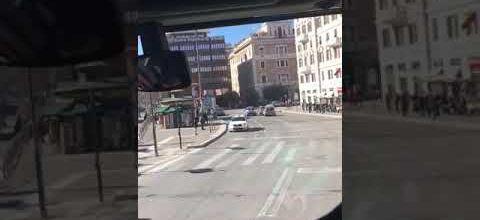 Rome : polizia et supporters irlandais