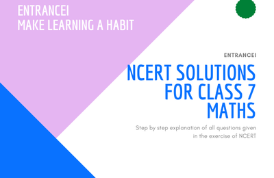 About NCERT Solutions  for CLASS 7 MATHS – What You Need to Know