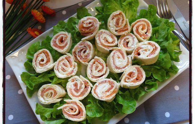 Wraps saumon boursin