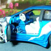 PEUGEOT 206 TUNING MONDO MOTORS 1/32 PEINTURE BLEUE - car-collector.net