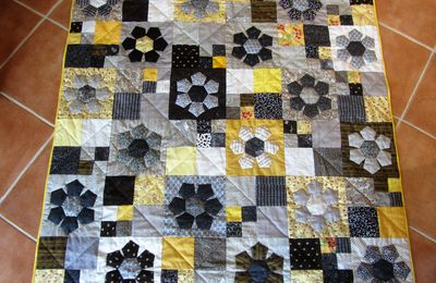 Patchwork: Quilting terminé
