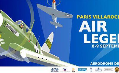 Meeting aérien à Melun 8-9 septembre : Paris-Villaroche Air Legend