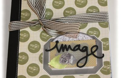 """Mini album """"image"""" crop de prisca"""