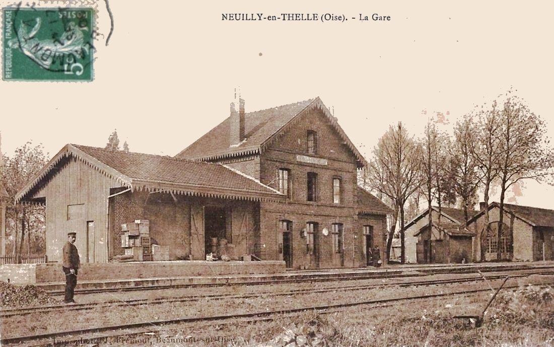 Ancienne Gare de Neuilly en Thelle (Oise)-5