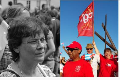 Michel DUPUY : Mon amie, militante CGT dans le Val-de-Marne, Edith PAUVERT n'est plus