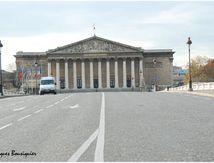 Paris, l'Assemblée Nationale