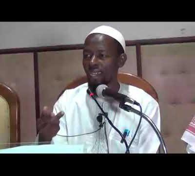 Journée d'étude sur Islam & Santé-05 Exposé Dr Tahir Diallo