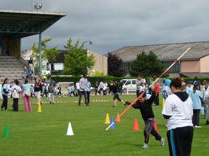 Exemple d'utilisation du stade Jacques-Havet. Ici en 2012 durant les Olympiades 276 (cliché d'Armand Launay, juillet 2012).