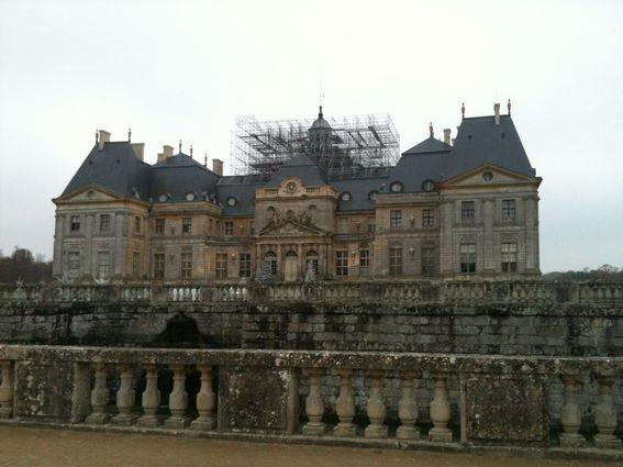 Chateau de Vaux le Vicomte Réalisation du projet de la fresque de Charles LE BRUN Le Palais du Soleil.