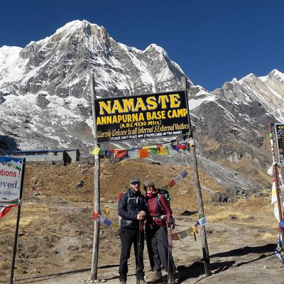 Nepal 2018: ABC (Annapurnas base camp) alt 4130m